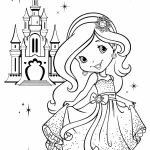Strawberry Shortcake Coloring Pages Online   56731