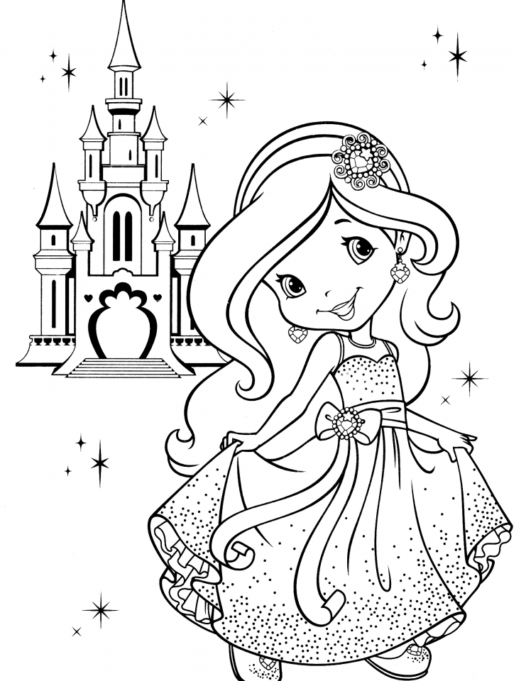 get this strawberry shortcake coloring pages online 56731