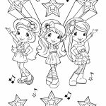 Strawberry Shortcake Coloring Pages Online   94910