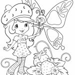 Strawberry Shortcake Printable Coloring Pages   47169
