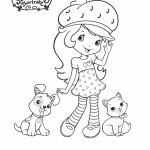 Strawberry Shortcake Printable Coloring Pages   99673