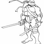 Teenage Mutant Ninja Turtles Coloring Pages Free Printable   65190