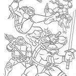 Teenage Mutant Ninja Turtles Coloring Pages Free Printable   81246