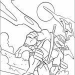 Teenage Mutant Ninja Turtles Printable Coloring Pages for Boys   17592