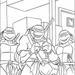 Teenage Mutant Ninja Turtles Printable Coloring Pages for Boys   31709