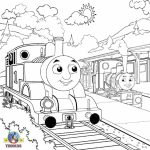 Thomas the Tank Engine Coloring Pages Online   36221