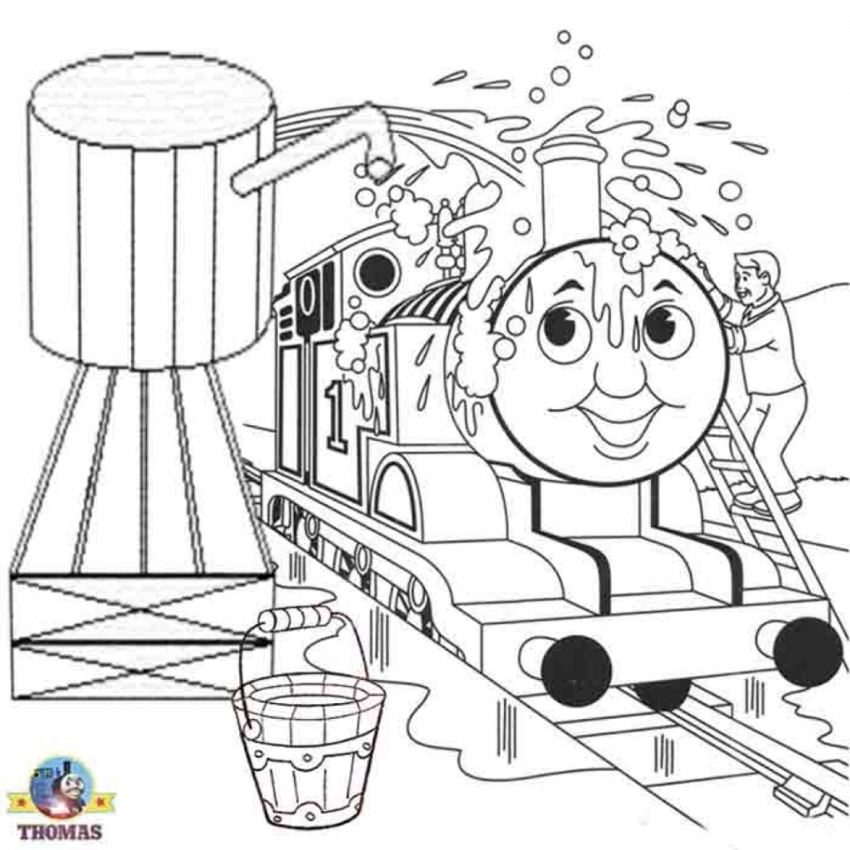 Get This Thomas the Tank Engine Coloring Pages Online 46338