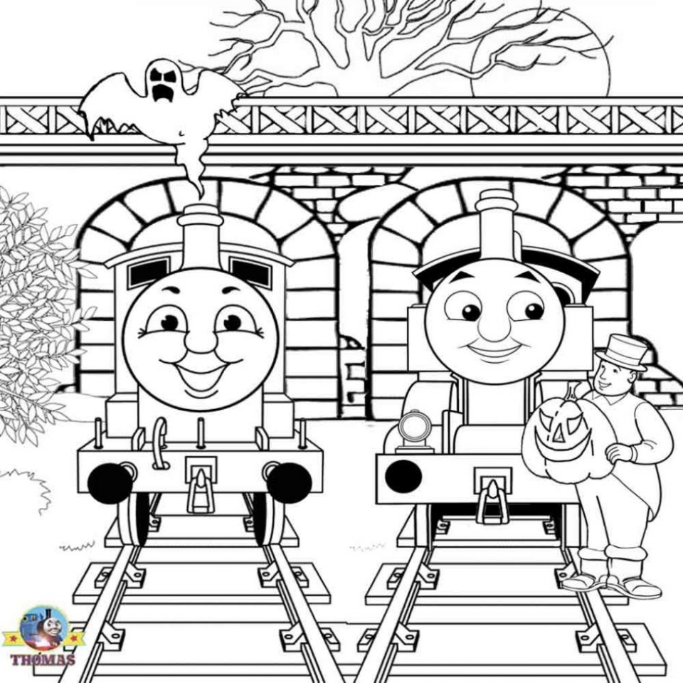Thomas the TRain Coloring Pages Free   31672