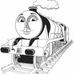 Thomas the TRain Coloring Pages Free   51425