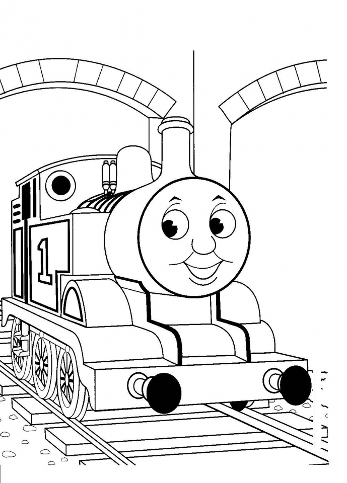 Thomas the Train Coloring Pages Online   38690