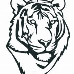 Tiger Face Coloring Pages Free Printable   41854