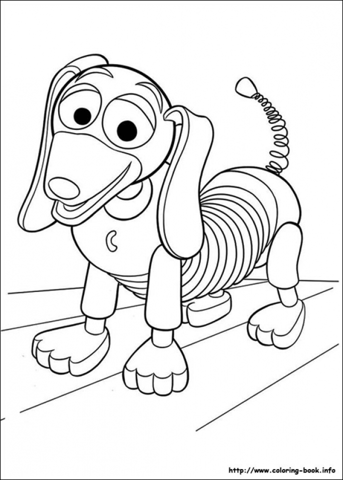 Toy Story Coloring Pages for Kids   31875
