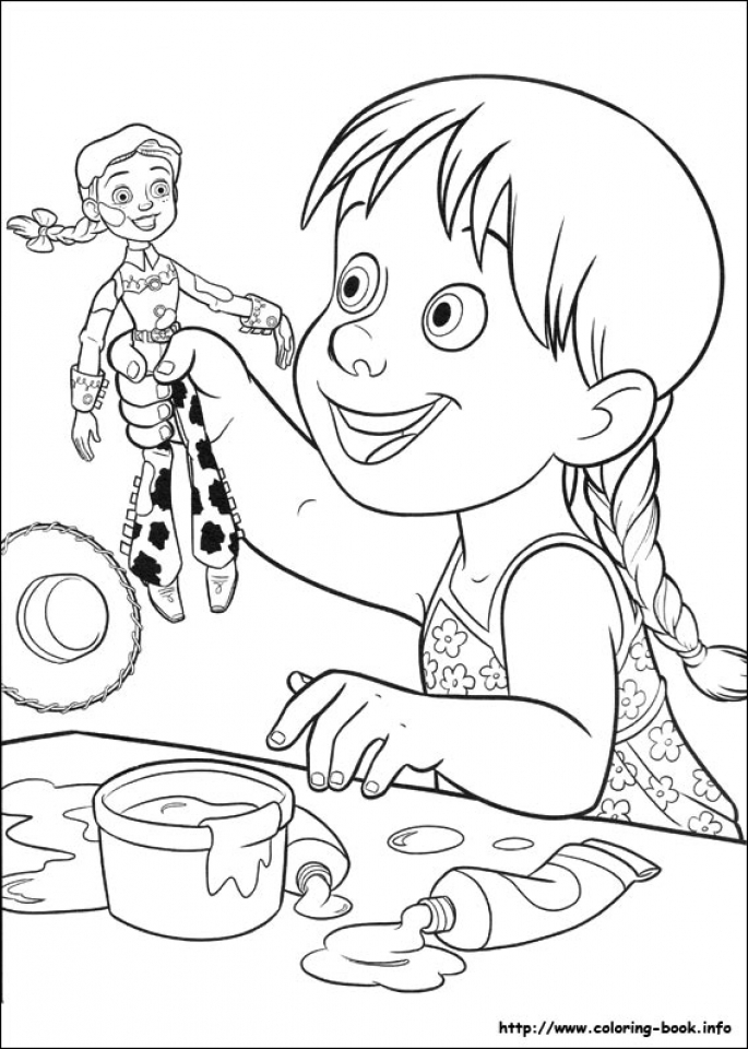 Toy Story Coloring Pages Free   85922