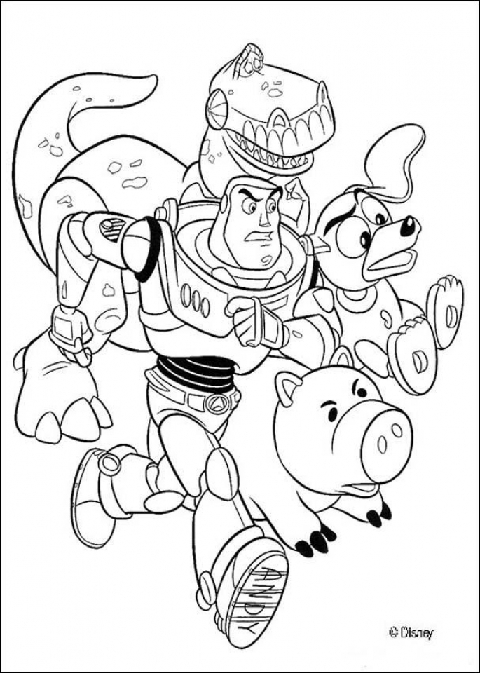 Toy Story Coloring Pages Printable   85621