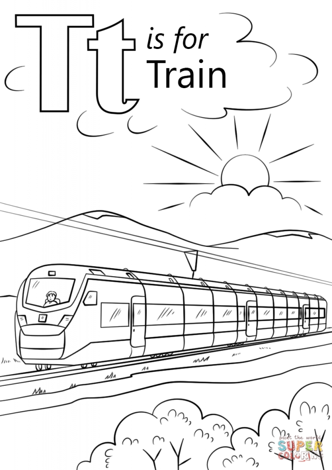 Get this train coloring pages for kids 87201 for Train coloring pages for kids