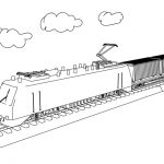 Train Coloring Pages to Print Out   28449