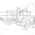 Truck Coloring Pages for Kids   16486