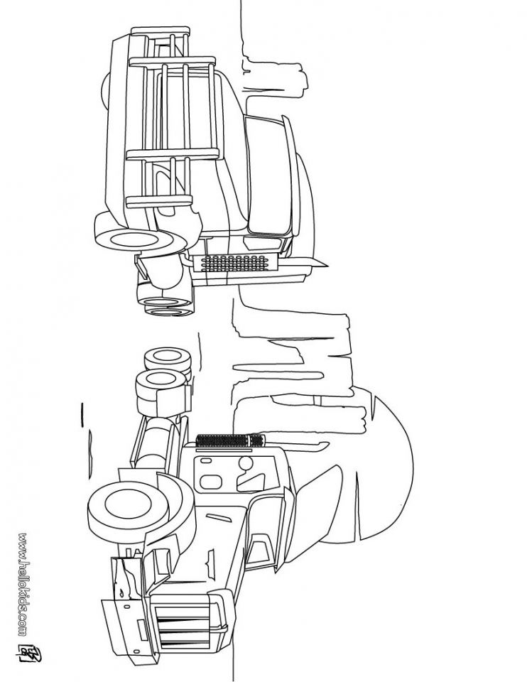Truck Coloring Pages Printable   52167