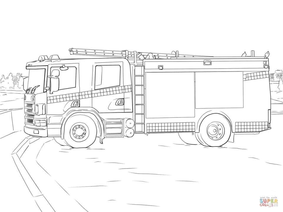 Truck Coloring Pages to Print   96899
