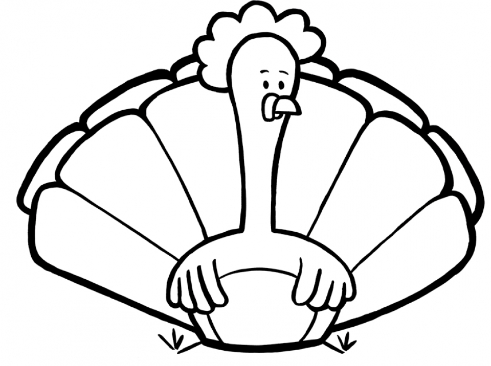 Turkey Coloring Pages for Kids   57025