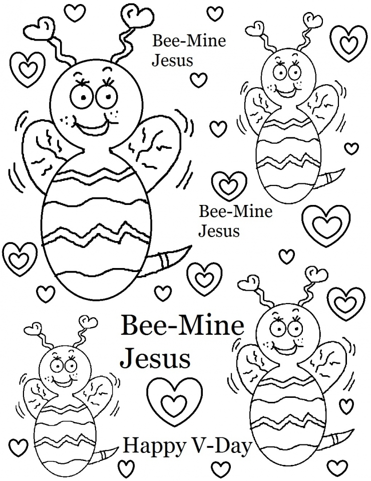 Get This Valentines Online Coloring Pages To Print Out 98430