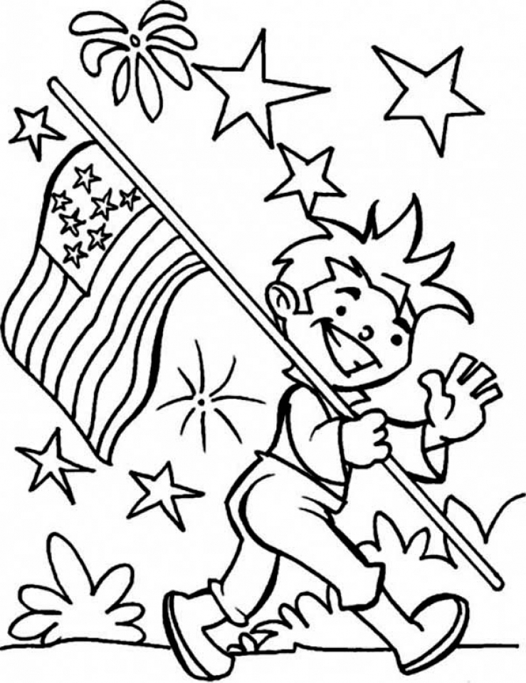 Get This 4th of July Coloring Pages
