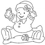 Baby Coloring Pages Online - br8a2