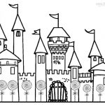 Castle Coloring Pages Printable - bd62l