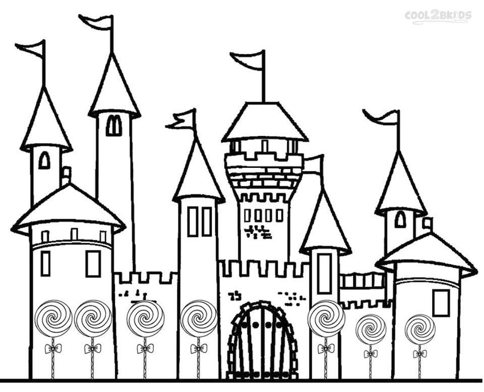 Get This Castle Coloring Pages Printable