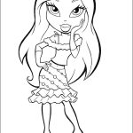 Coloring Pages of Bratz Free to Print - 64hf7