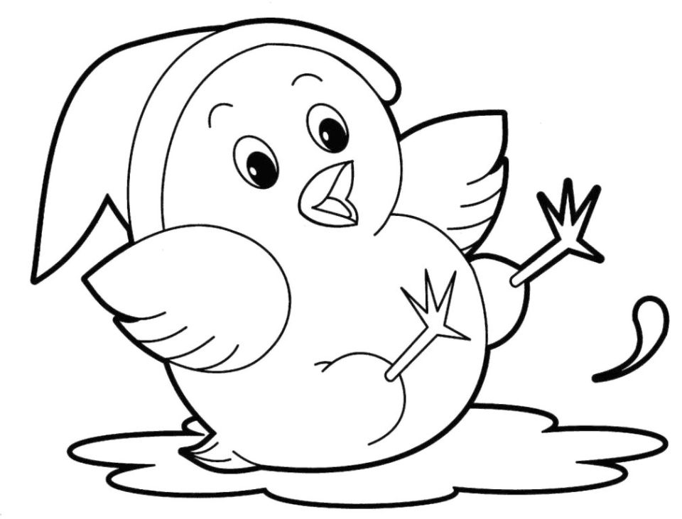 print cute animal coloring pages - photo#7