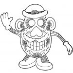 Day of the Dead Coloring Pages Online Printable - 4afs6