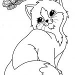 Kitten Coloring Pages Kids Printable - 8gh9 - new