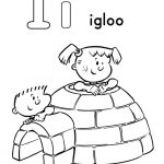 Letter I Coloring Pages Iglo - 2g4ml