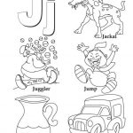 Letter J Coloring Pages - nfl31