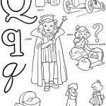 Letter Q Coloring Pages - lrpq4