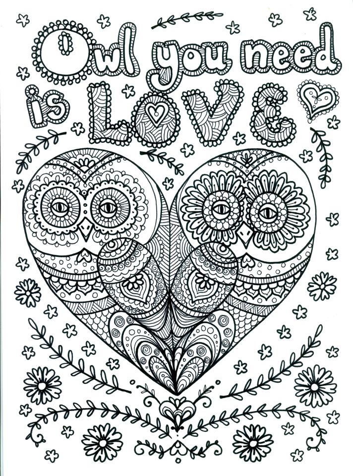 Love Coloring Pages for Adults Free - 91ld8
