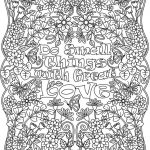 Love Coloring Pages for Adults Printable - op47d