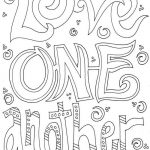 Love Coloring Pages to Print for Kids - 95891