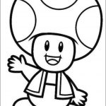 Mario Coloring Pages Toad - 74n81