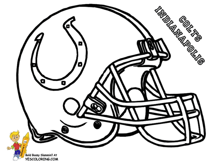 Get This NFL Coloring Pages to Print 7fb3m