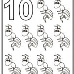 Number 10 Coloring Page - 10t10