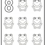 Number 8 Coloring Page - 8f785