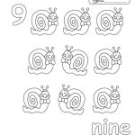 Number 9 Coloring Page - 959v9