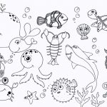 Ocean Coloring Pages for Preschoolers - dc381