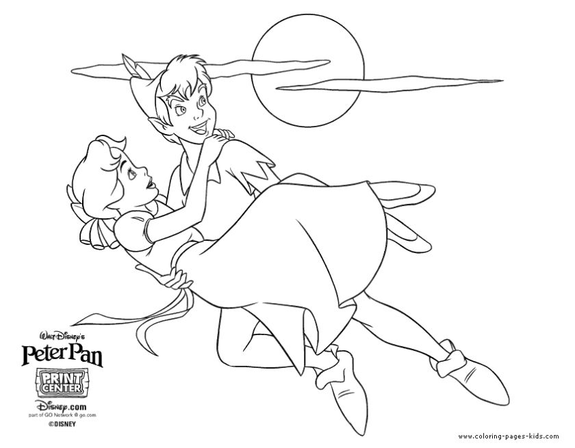 20+ Free Printable Peter Pan Coloring Pages - EverFreeColoring.com