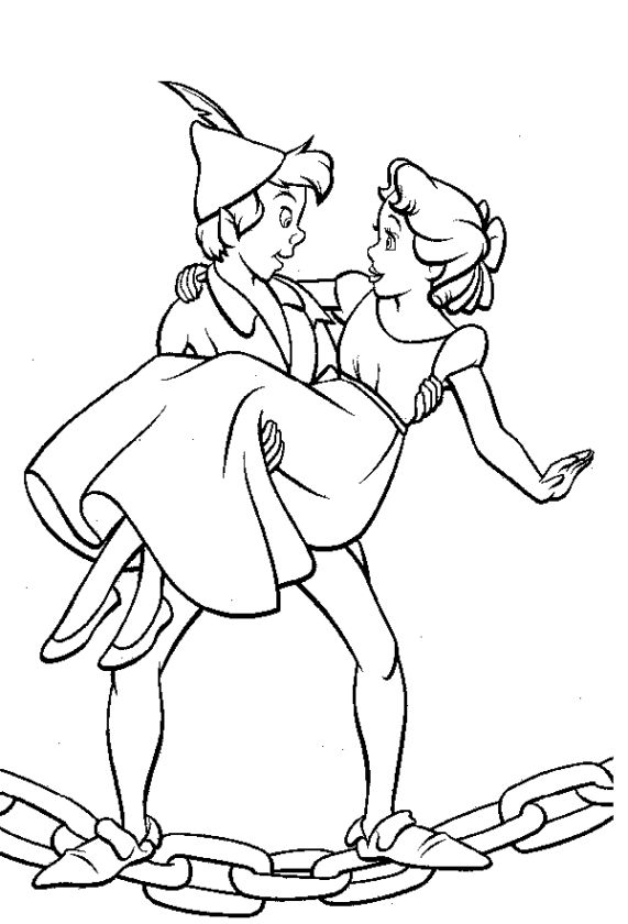 Peter Pan Coloring Pages Free - 8cbd1