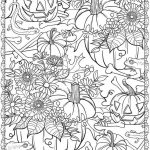 Pumpkin Coloring Pages for Adults Free - 7316s