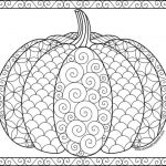 Pumpkin Coloring Pages for Adults Free - yvbf1