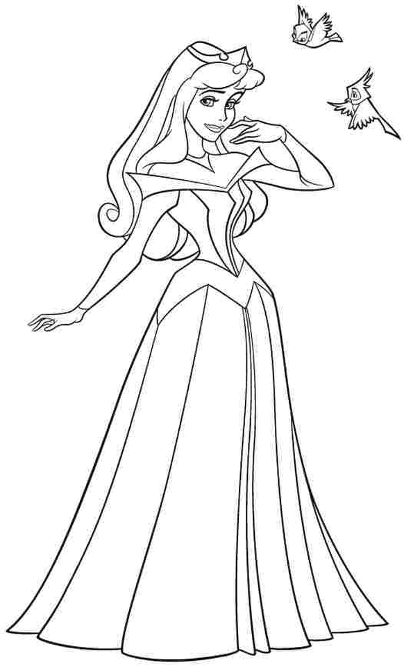 Sleeping Beauty Coloring Pages Free to Print - 73gsl